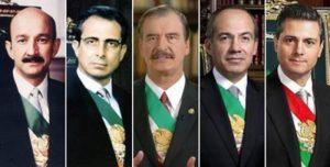 ¿Quién es el expresidente más corrupto? Mexicanos opinan