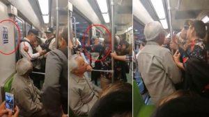 VIRAL: Mujer echa a abuelito de vagón exclusivo