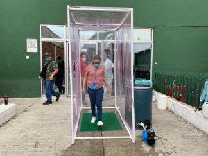 Crea neolaredense túneles sanitizadores