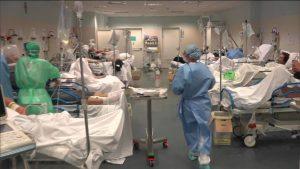Baja número de pacientes graves por coronavirus en Italia