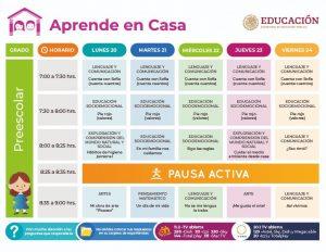 Aprende En Casa: horarios y materias para miércoles 22 de abril de 2020