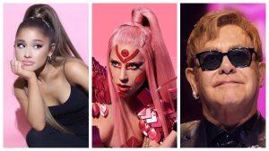 Lady Gaga revela colaboración con Ariana Grande y Elton John
