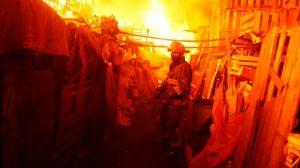 Esto sabemos del incendio registrado en la Central de Abastos de CDMX