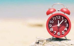 Este domingo se empareja el horario de verano