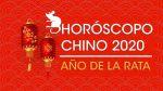Horóscopo Chino para hoy sábado 18 de abril 2020