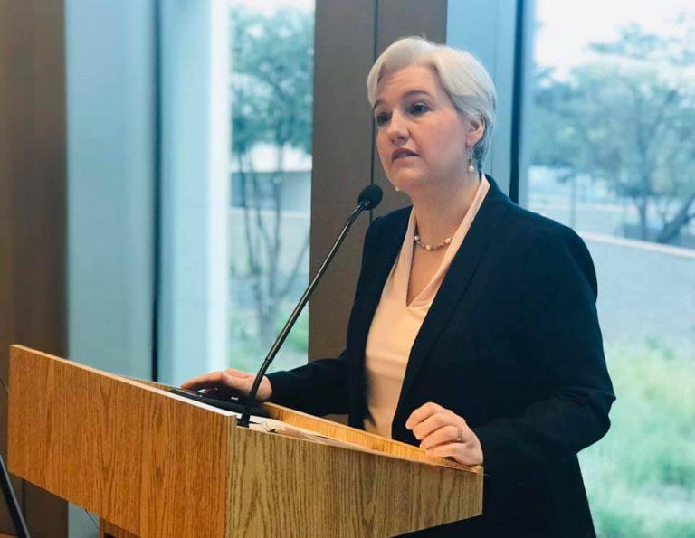 Kathryn Flachsbart consul de los Estados Unidos en Nuevo Laredo. Foto: Facebook Consulado General de los Estados Unidos en Nuevo Laredo