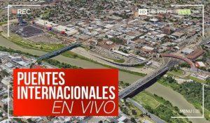 Puentes Internacionales Nuevo Laredo hoy miércoles 8 de abril