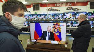 Declara Putin No laborales todos los días hasta 30 de abril por coronavirus