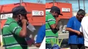 "Así vendedores empaquetan cubrebocas ""esterilizados"" (+VIDEO)"
