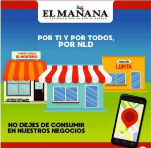 Ofrece El Mañana apoyo para empresas locales