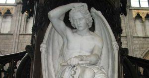 ¿Quién pintó al Lucifer cuya imagen se parece a la aparición en el cielo?