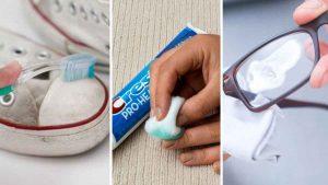 Pasta dental: 20 usos diferentes que ni te los imaginabas