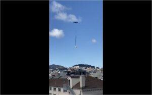 VIRAL: Su amigo se queda sin papel higiénico y se lo envía por drone