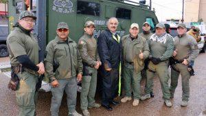 COVID-19: Cuatro alguaciles del Condado de Webb dan positivo