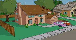 VIRAL: Familia recrea intro de Los Simpsons durante cuarentena