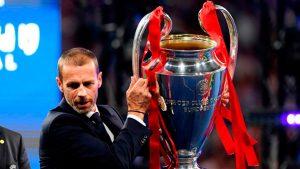 UEFA podría suspender a Bélgica de competencias europeas