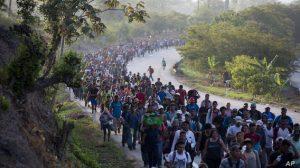 México refuerza frontera sur ante caravana migrante de hondureños