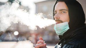 Efectos de un fumador en cuarentena
