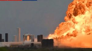 Explota cohete de Space X a horas de lanzamiento de misión tripulada (VIDEO)