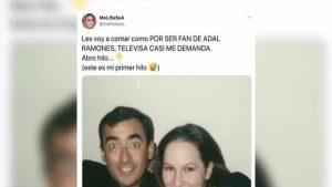 Fan Tamaulipeca de Adal Ramones narra la vez que Televisa casi la demanda