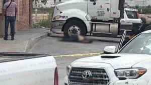 Hombres armados asesinan a chofer de pipa en Reynosa (VIDEO)