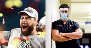 Laurent Duvernay-Tardif: de ganador del Super Bowl a médico que combate el Covid-19