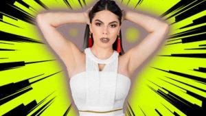 Lizbeth Rodríguez con sexys posiciones da tutorial de actuación VIDEO