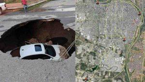 Mapa de socavones en Nuevo Laredo ¡Cuidado! (FOTOS)