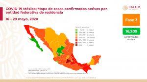 Rebasa México los 84 mil casos de Covid-19