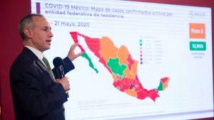Número de muertes por Covid-19 en México hoy viernes 22 de mayo