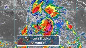 """Tormenta Tropical """"Amanda"""" afectará México"""