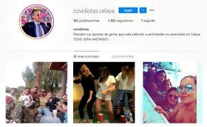 Crean cuentas de Instagram para quemar a quienes rompen cuarentena