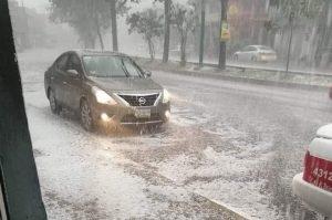 Se esperan más lluvias y granizo en Tamaulipas