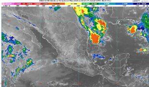 Se pronostican fuertes lluvias y granizada para Tamaulipas