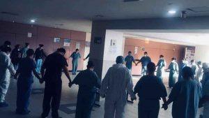 La oración a Dios que médicos de Tijuana hacen antes de combatir al Covid