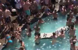 Arman fiesta masiva en piscina en Missouri durante pandemia (VIDEO)