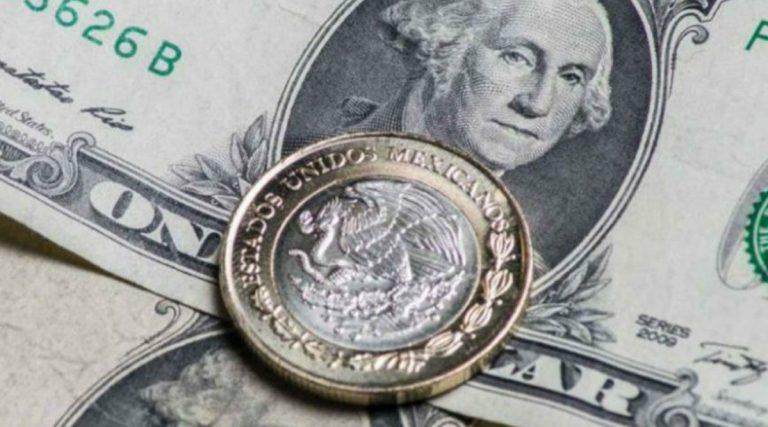 Peso continúa recuperando terreno, se cotiza a 22.95 por dólar