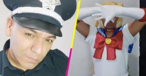 Investigan a supuesto policía por vestirse de Sailor Moon