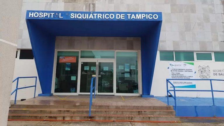 Brote de COVID-19 en hospital psiquiátrico de Tampico
