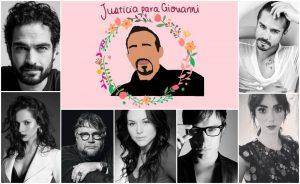 Famosos exigen justicia en caso de Giovanni López