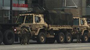 La Guardia Nacional en L.A listos para otro día de protestas