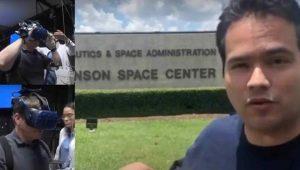 Mexicano diseñó tecnología de realidad virtual que fue clave para misión SpaceX