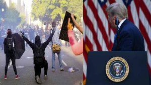 Trump ordena el despliegue militar para contener manifestaciones