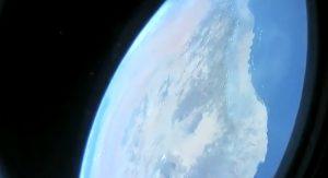 SpaceX: capturan imágenes de la curvatura de del planeta tierra