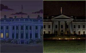 ¿Los Simpsons predijeron el apagón en la Casa Blanca?