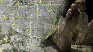 MAPA de muertes por COVID-19 en colonias de Nuevo Laredo FOTO