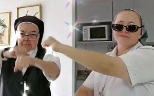 VIDEO VIRAL: Monjas se vuelven la sensación de TikTok con su 'baile celestial'