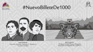 Así será el nuevo billete de 1000 pesos: ¿cuándo entra en circulación?