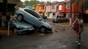 Texas con un ojo en 'Amanda': se convierte en una amenaza de huracán