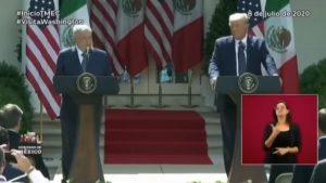 Revive el discurso del Presidente Andrés Manuel López Obrador en la Casa Blanca.